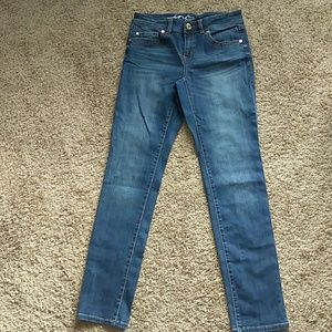 NWOT. Blue INC denim skinny leg regular fit jeans